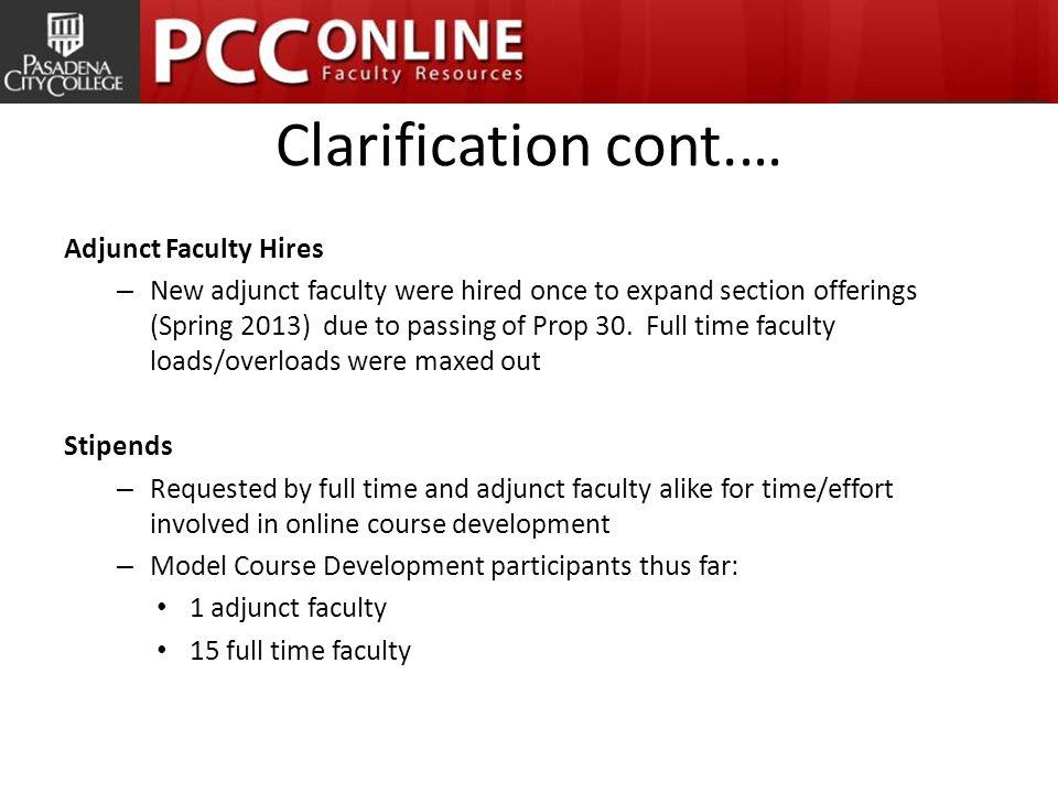 More Information PCC Online Faculty Resources Web Site http://online.pasadena.edu/faculty/ Leslie Tirapelle latirapelle@Pasadena.edu (626) 585-7839
