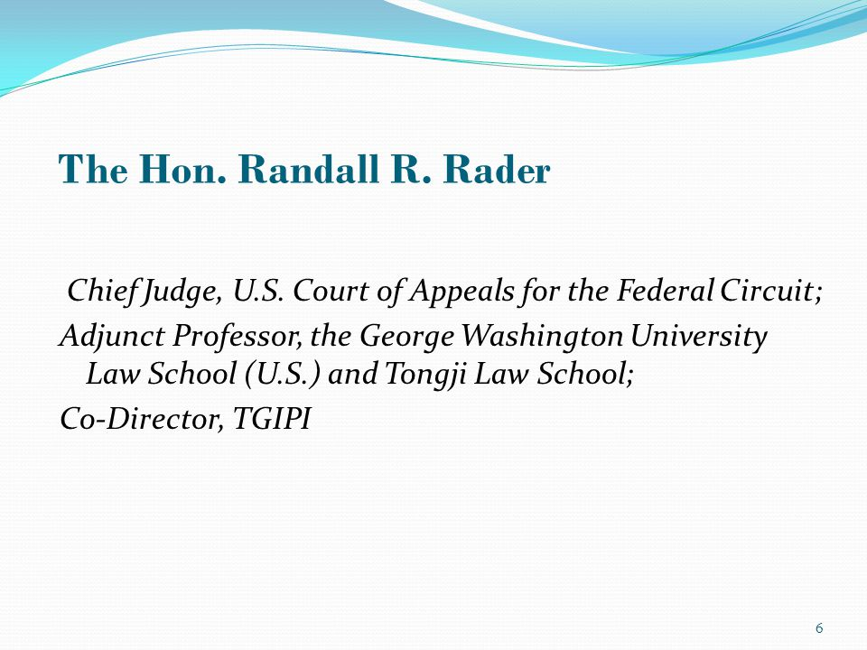 Chief Judge, U.S.