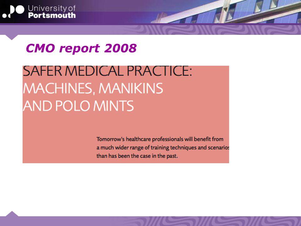 CMO report 2008