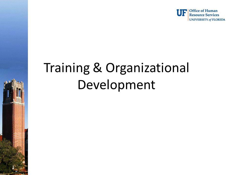 Training & Organizational Development