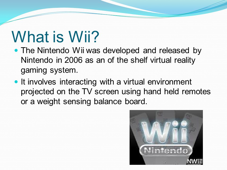 What is Wii.