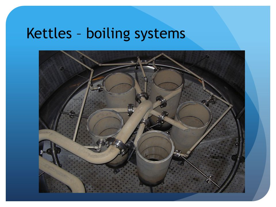 Kettles – boiling systems