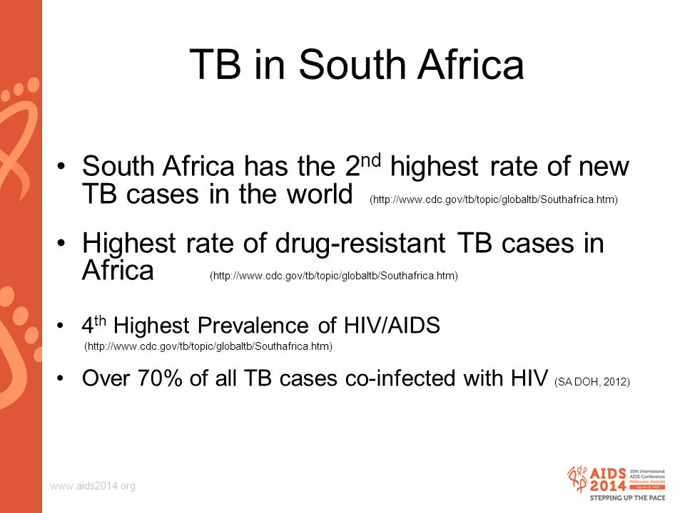 www.aids2014.org Background Following national guidelines, every effort should be made to ensure eligible clients are enrolled as soon as possible.