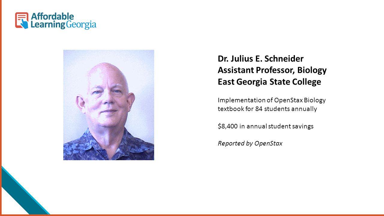 Dr. Julius E.