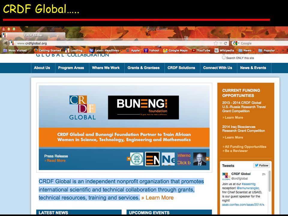CRDF Global…..
