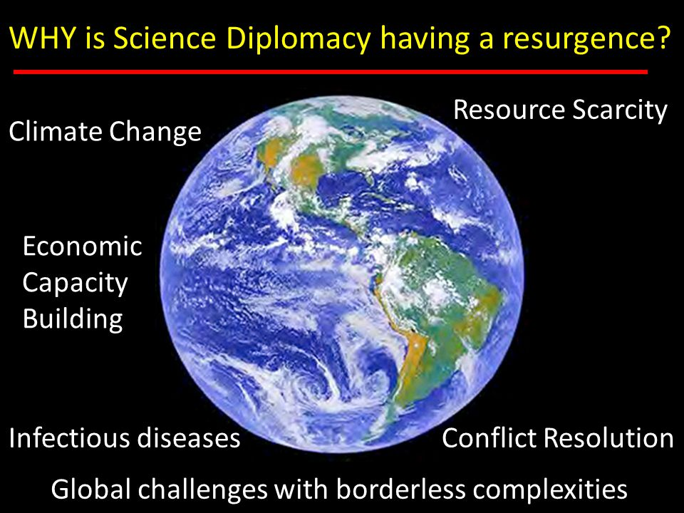 WHAT is Science Diplomacy? Putting your best face forward….
