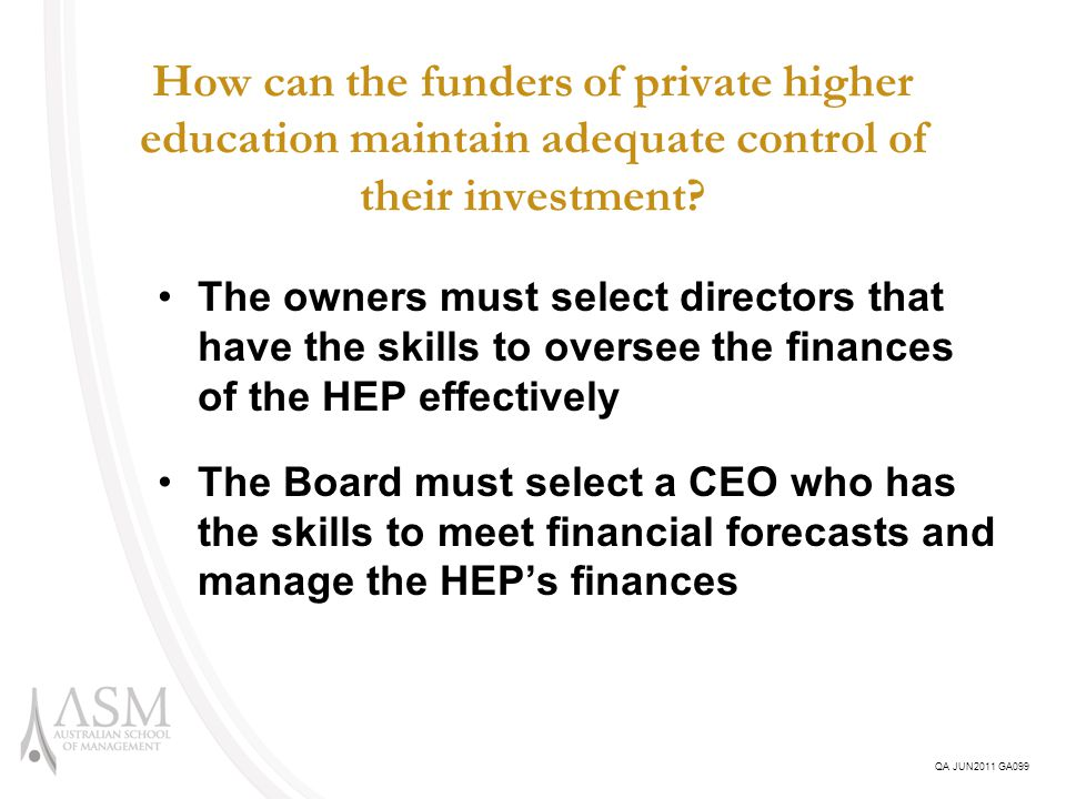 What is the future for tightly held proprietary companies that are HEPs.