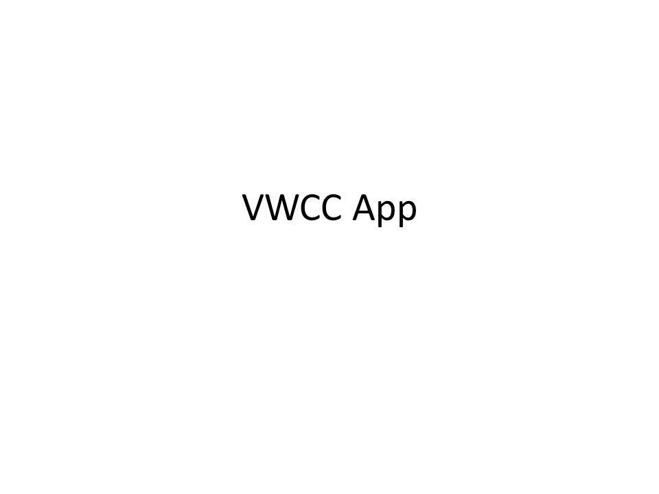 VWCC App