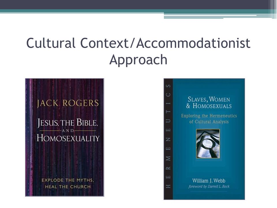 Cultural Context/Accommodationist Approach
