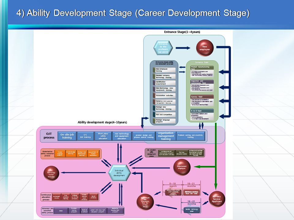 4) Ability Development Stage (Career Development Stage)