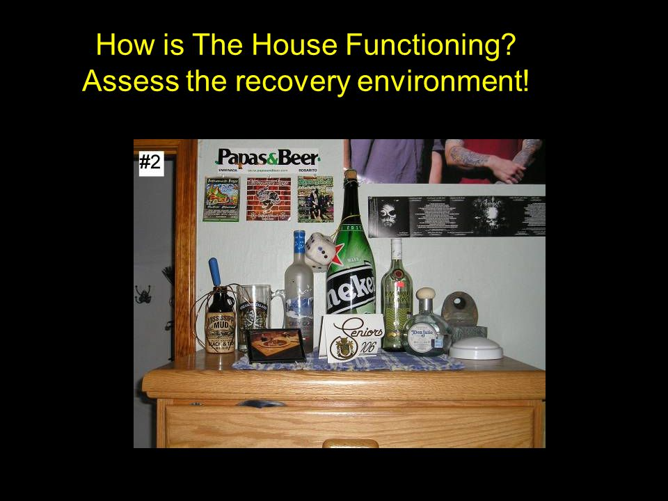 How is The House Functioning Assess the recovery environment!