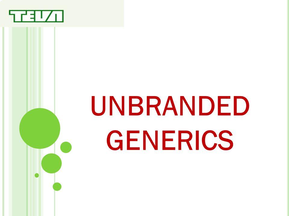 UNBRANDED GENERICS