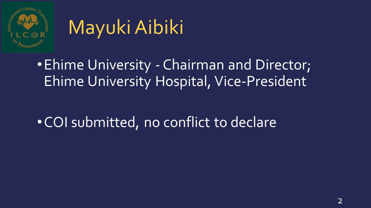 Christopher Colby Mayo Clinic - Neonatologist COI submitted, no conflict to declare 53