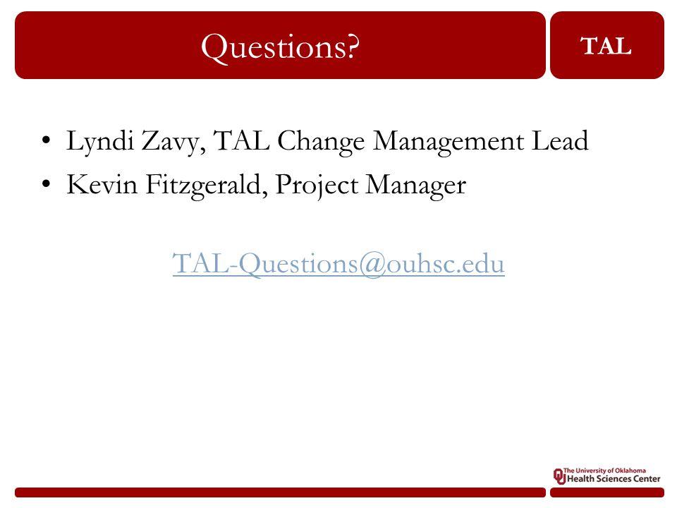 TAL Questions.
