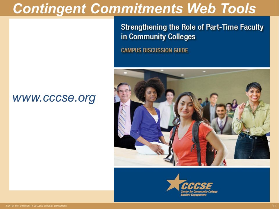 Contingent Commitments Web Tools 33