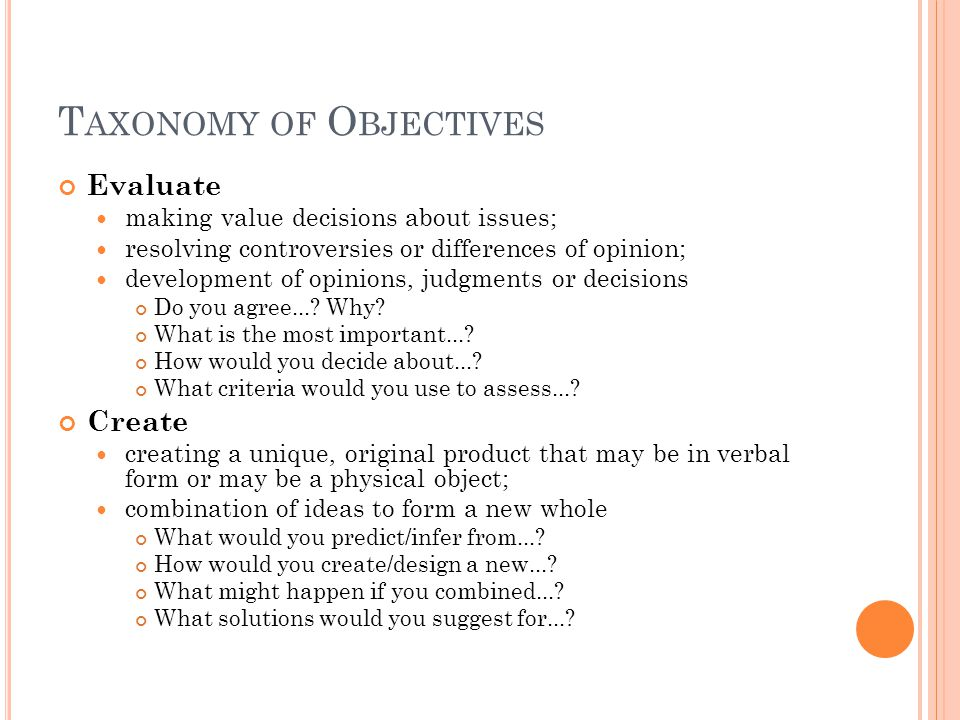 T ASK ANALYSIS Do objectives have implied pre-requisite knowledge and skills that are part of the course.