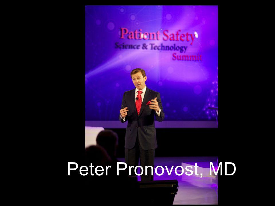 Peter Pronovost, MD