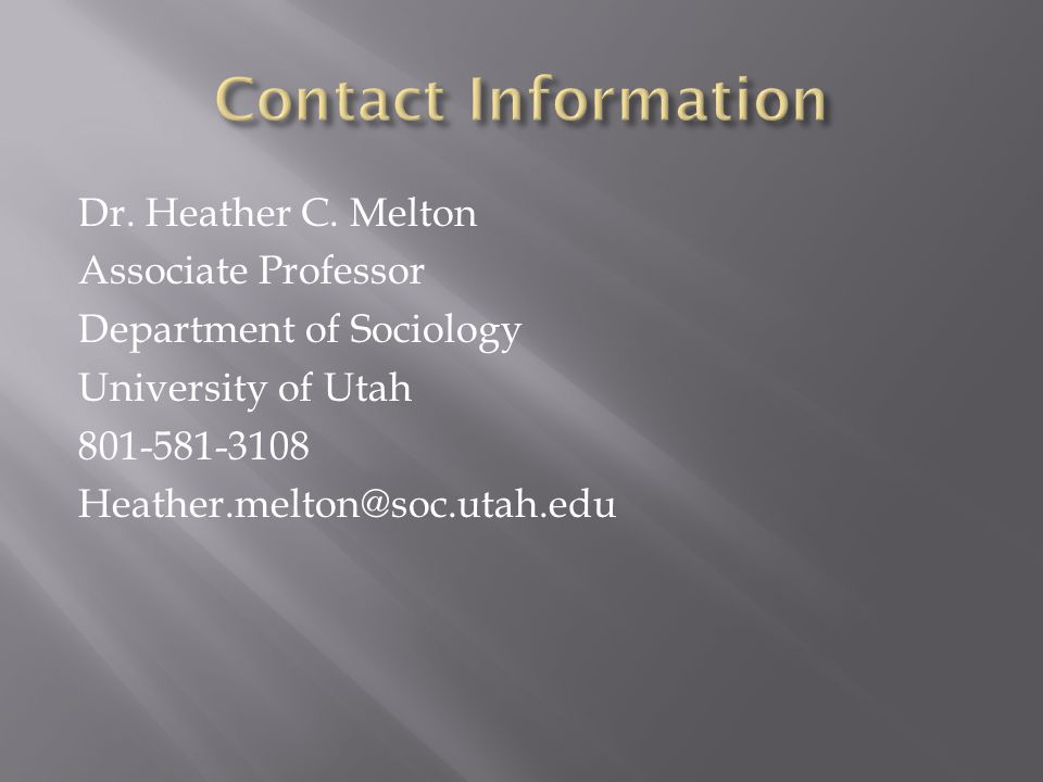 Dr. Heather C.