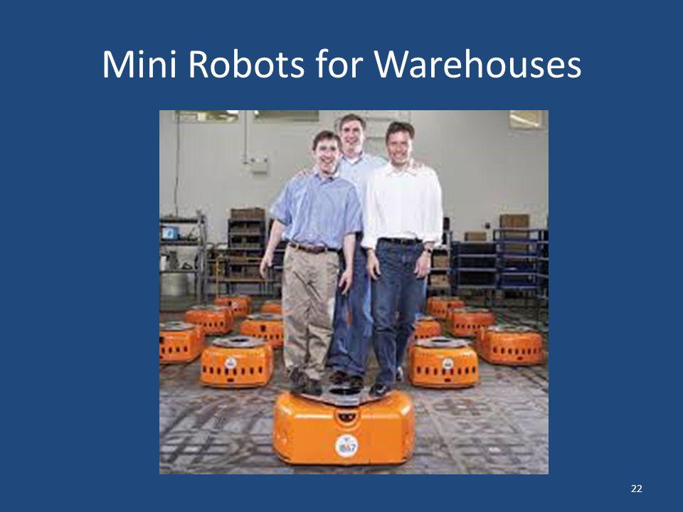Mini Robots for Warehouses 22