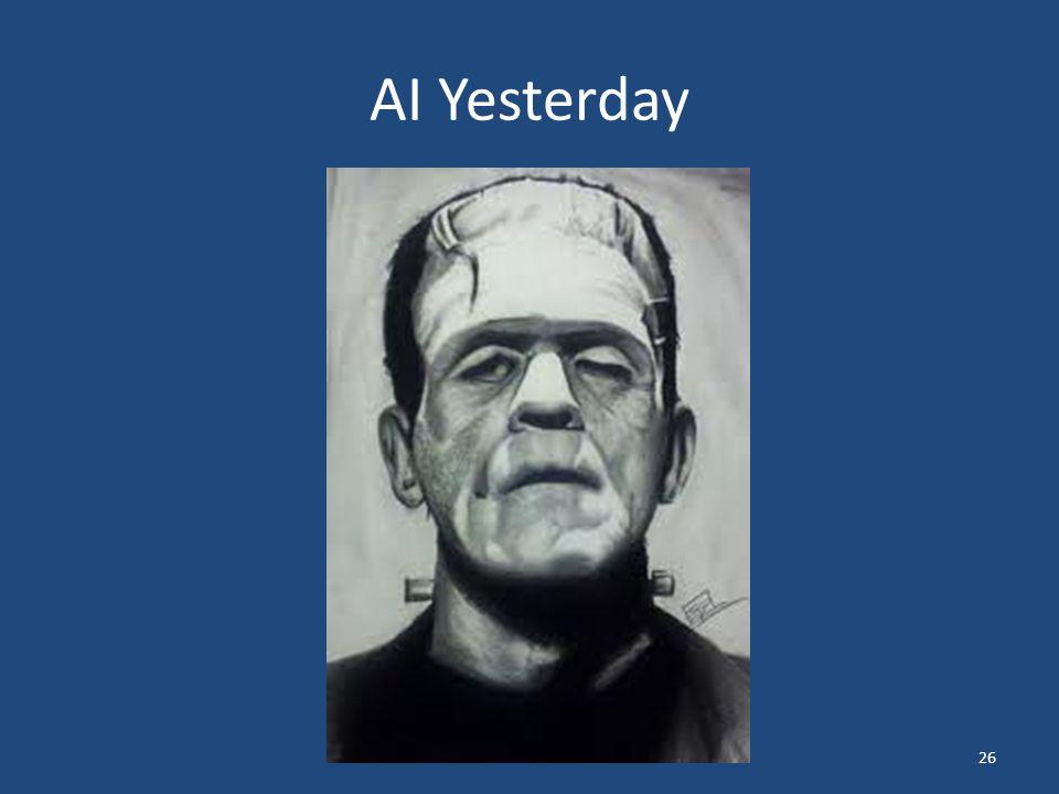 AI Yesterday 26