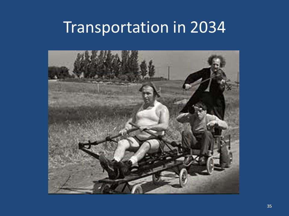 Transportation in 2034 35
