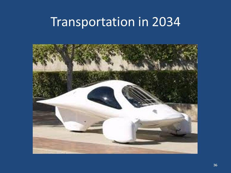 Transportation in 2034 36