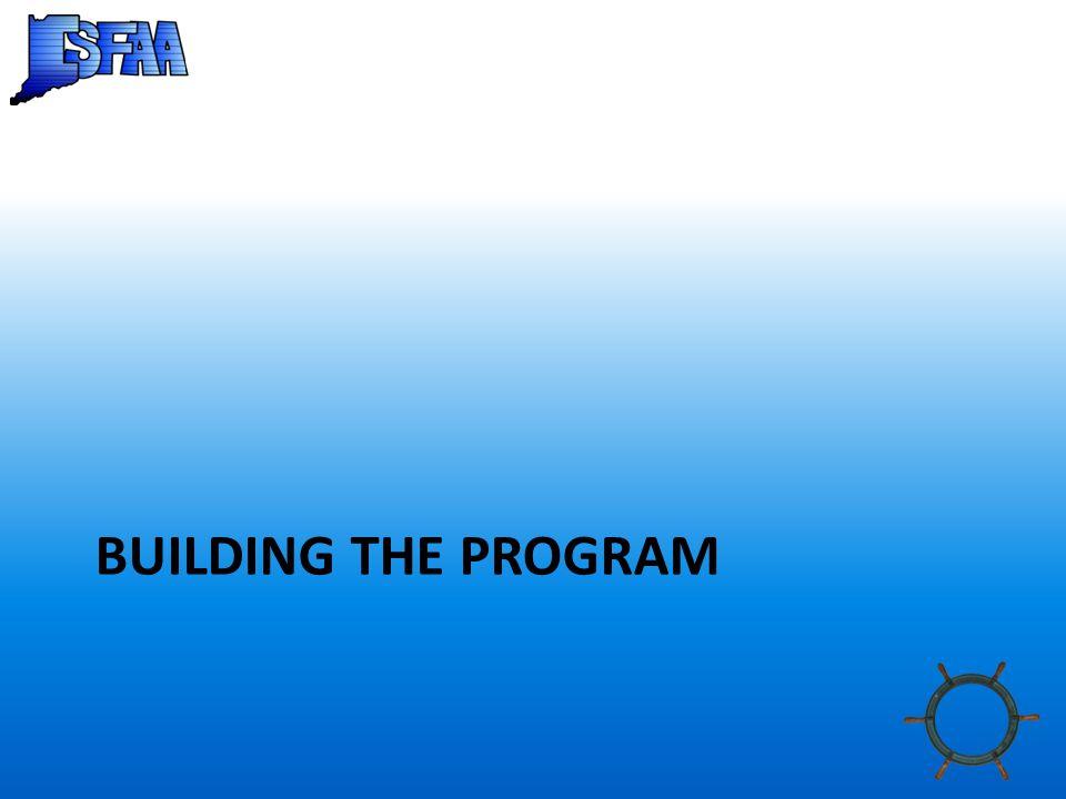 BUILDING THE PROGRAM