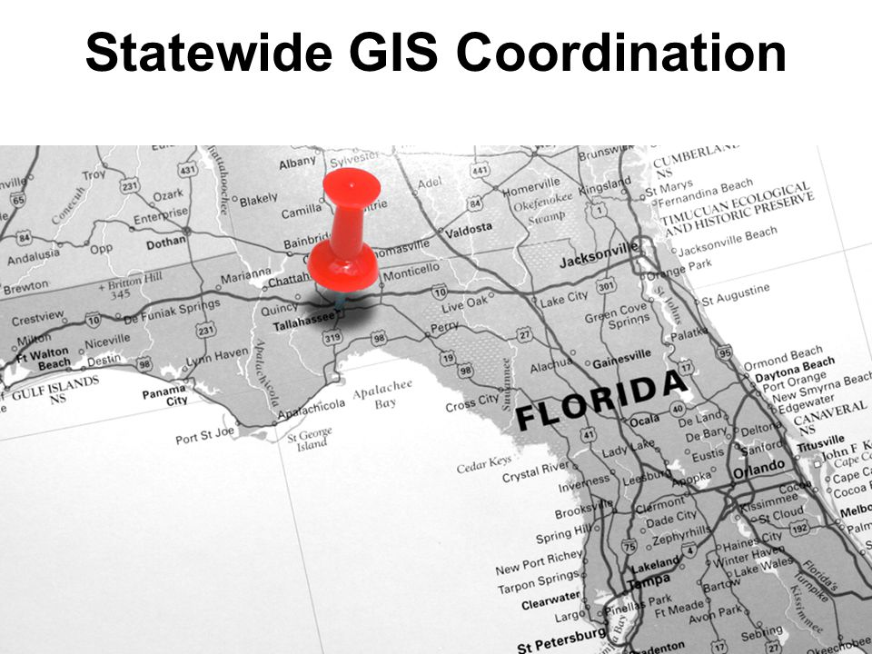 Statewide GIS Coordination