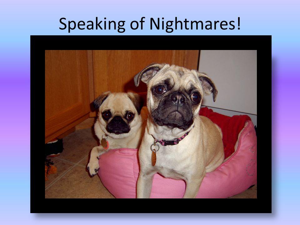 Speaking of Nightmares!