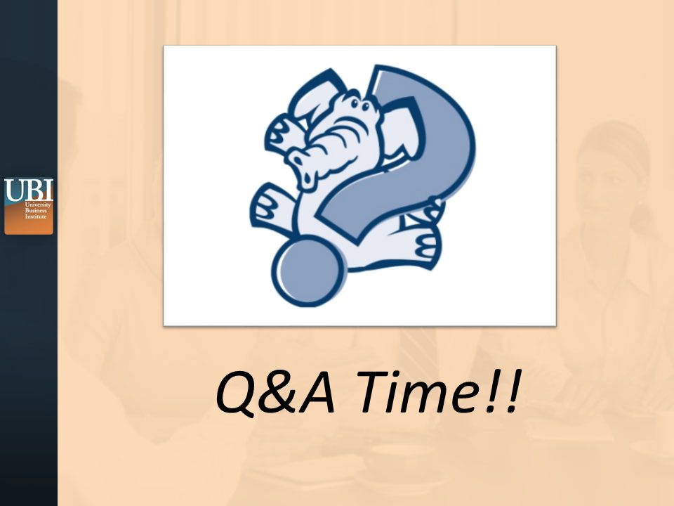 Q&A Time!!
