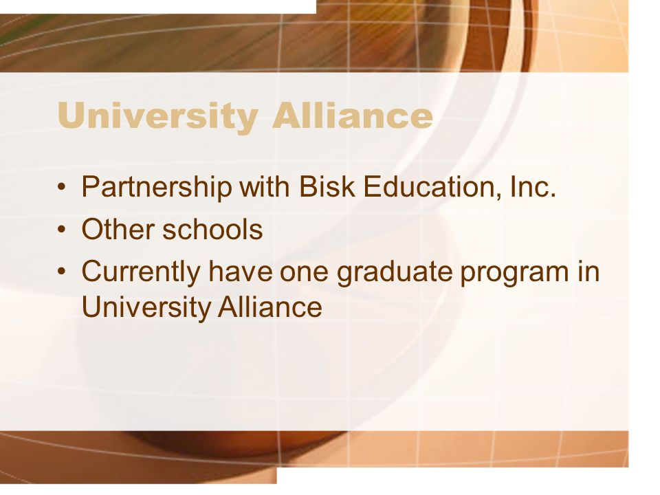 Partnership with Bisk Education, Inc.