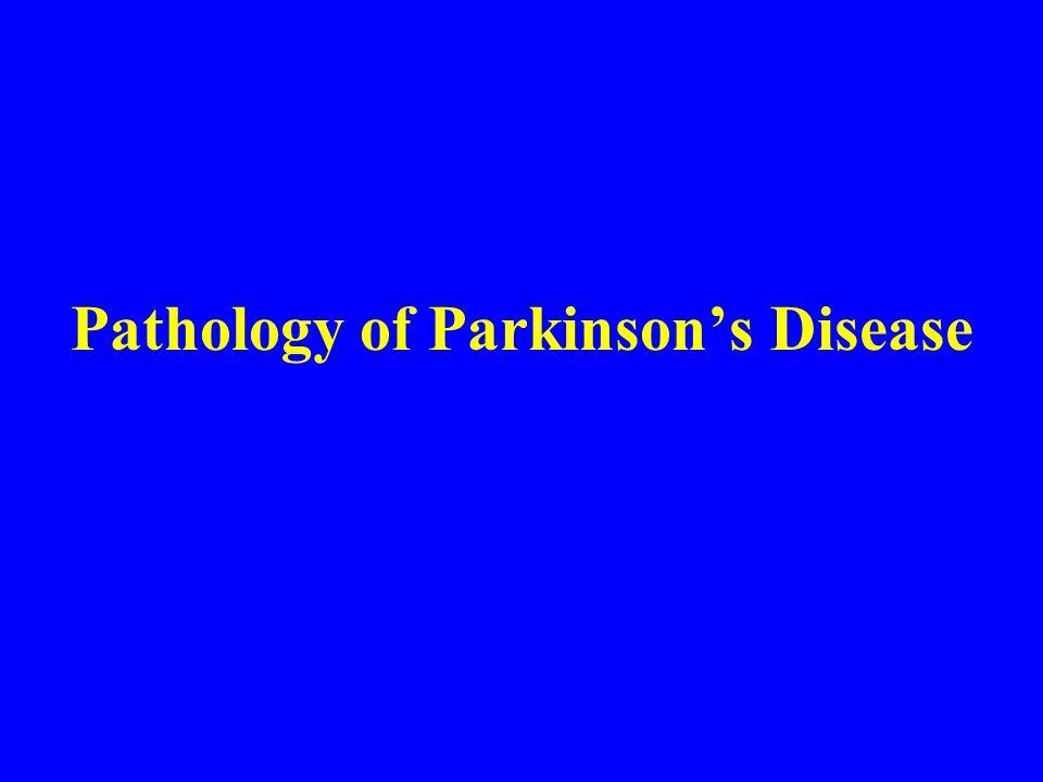 Pathology of Parkinson's Disease