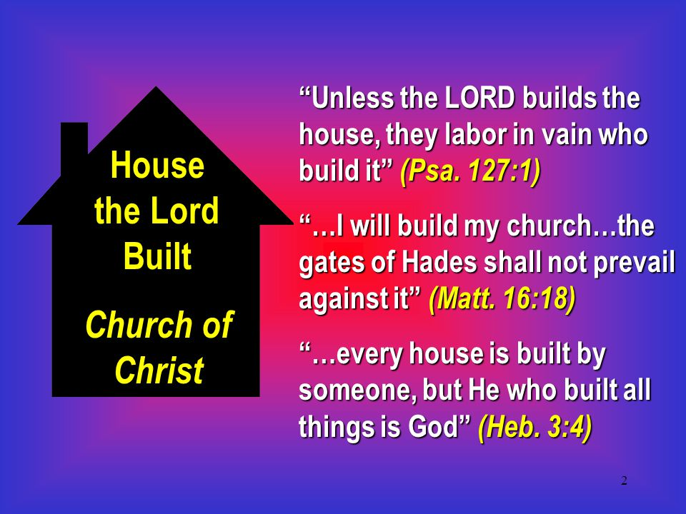 3 Christ and His Church Who do men say Jesus is.(Matt.