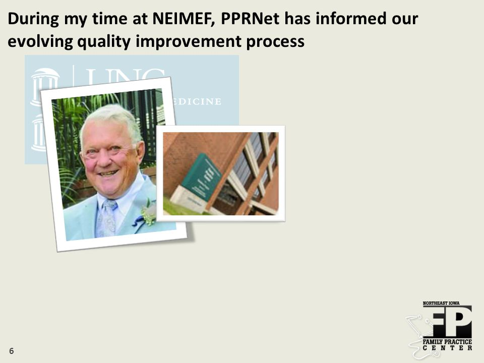 17 PPRNet data and findings change our practice PPRNet continues to inform our needs Questions.