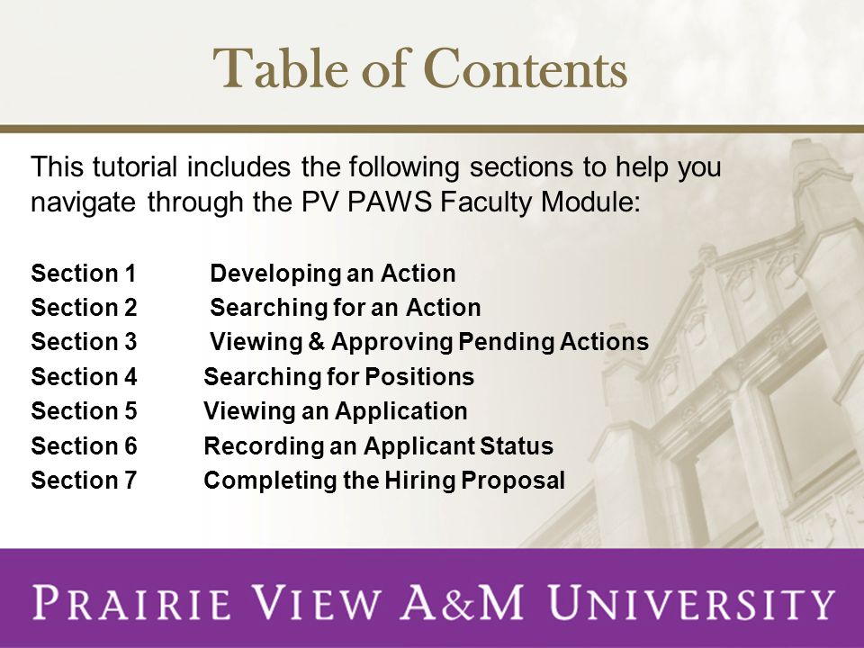 There are seven Begin New Action records for faculty.