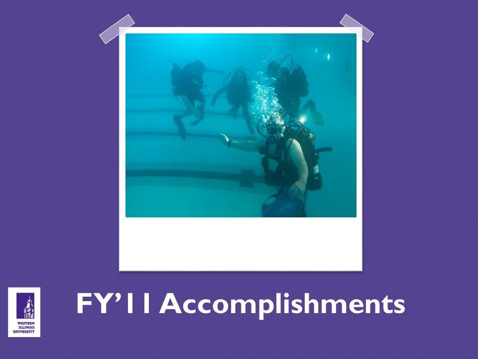 FY'11 Accomplishments
