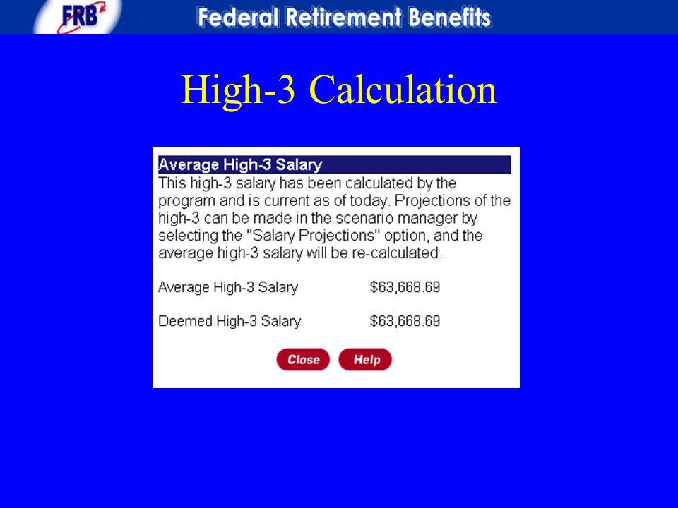 High-3 Calculation