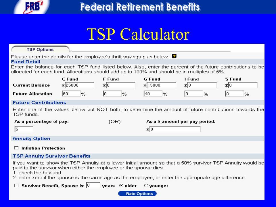 TSP Calculator