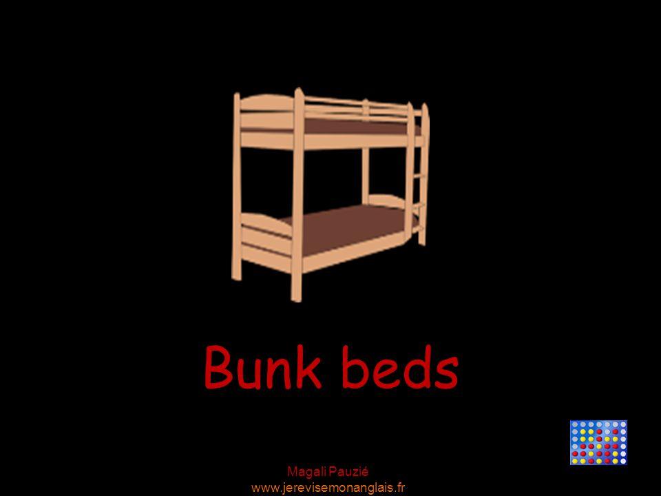Magali Pauzié www.jerevisemonanglais.fr Bunk beds