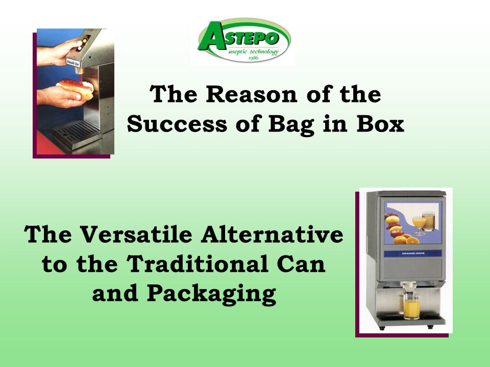 The Reason of the Success of Bag in Box The Versatile Alternative to the Traditional Can and Packaging