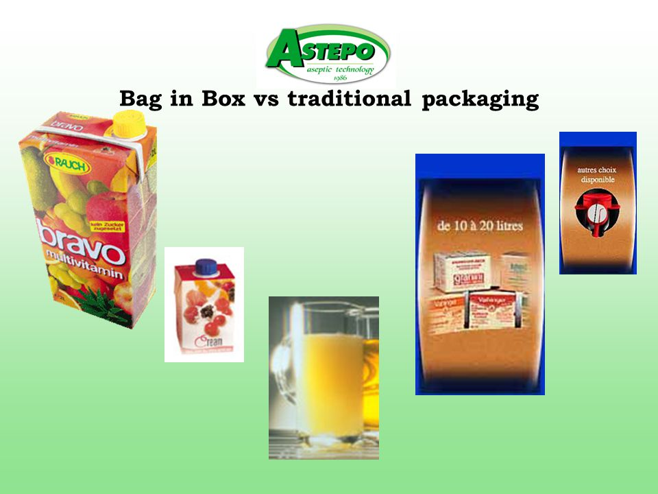 Bag in Box vs traditional packaging