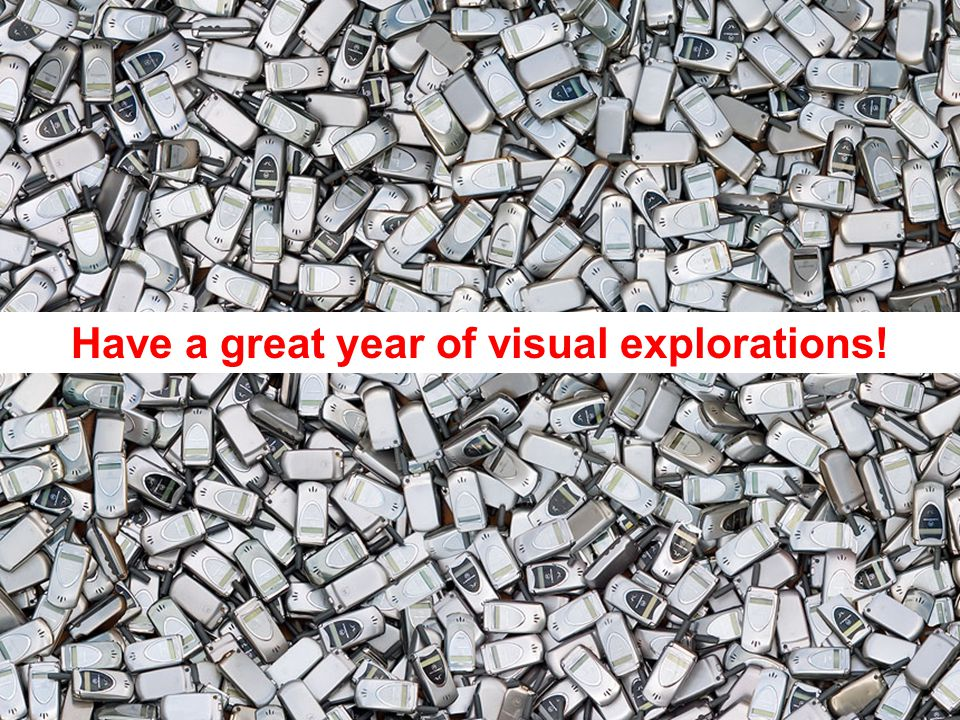 Have a great year of visual explorations!