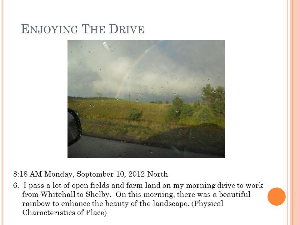 B EAUTIFUL V IEW 1:12 PM Saturday, September 1, 2012 Southeast 7.
