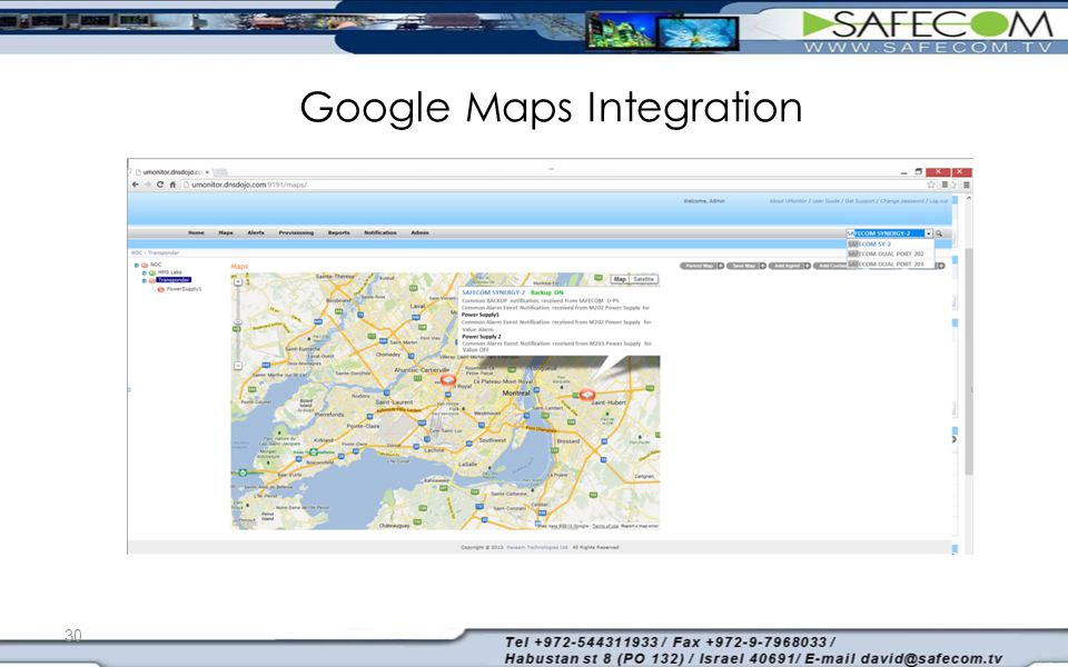 Google Maps Integration 30