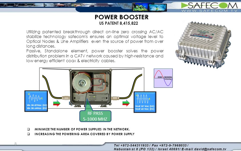  MINIMIZE THE NUMBER OF POWER SUPPLIES IN THE NETWORK.