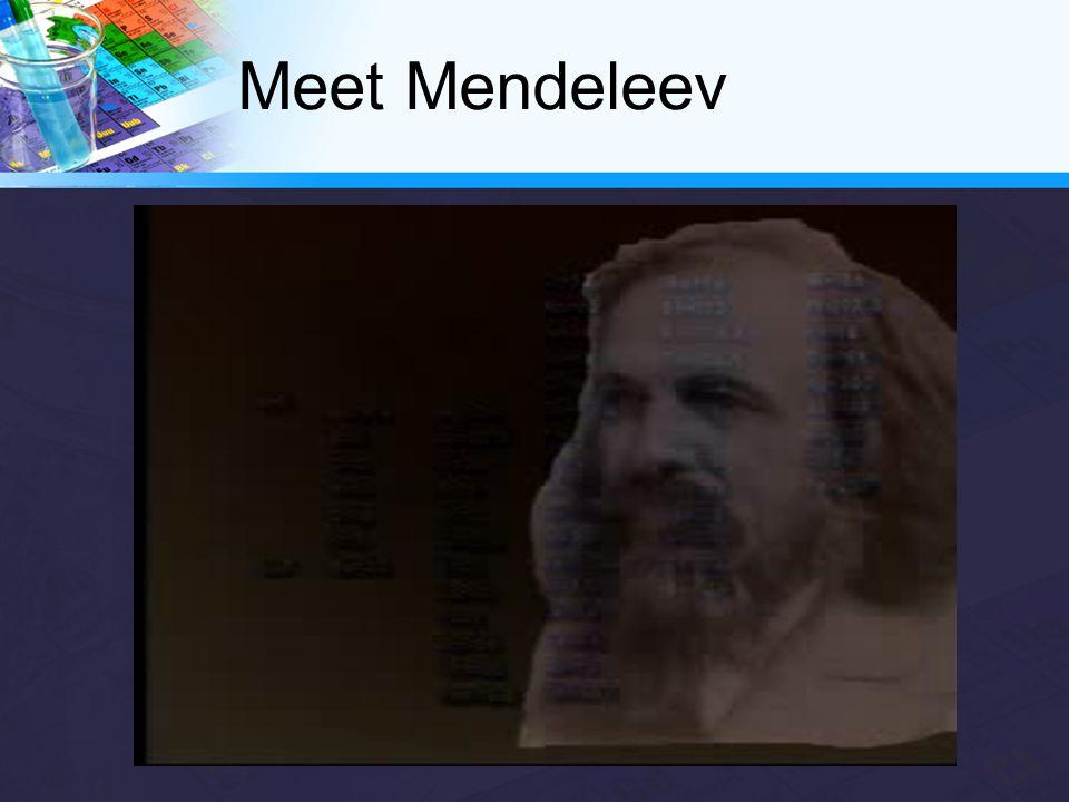 Meet Mendeleev