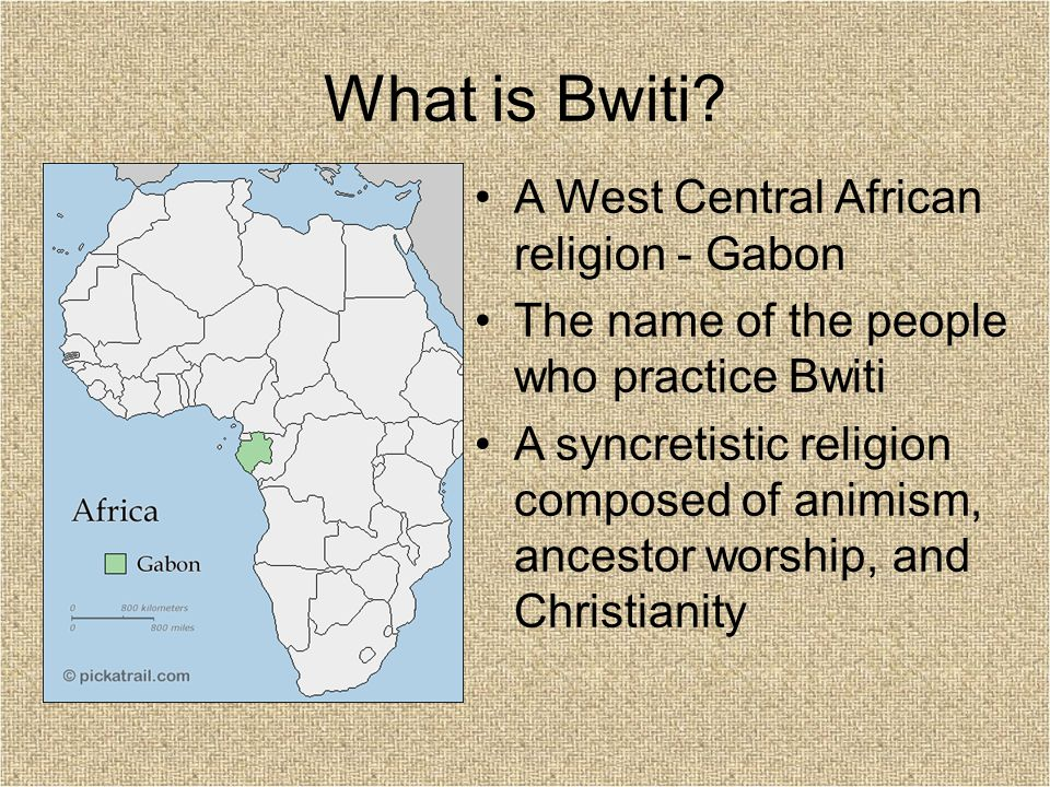 What is Bwiti.