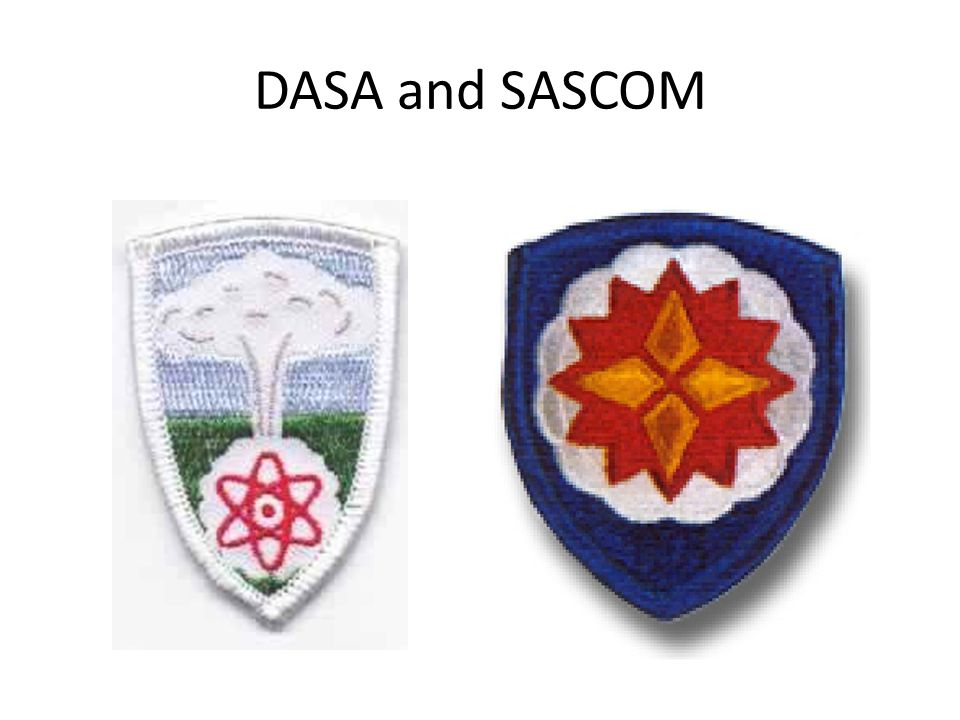DASA and SASCOM