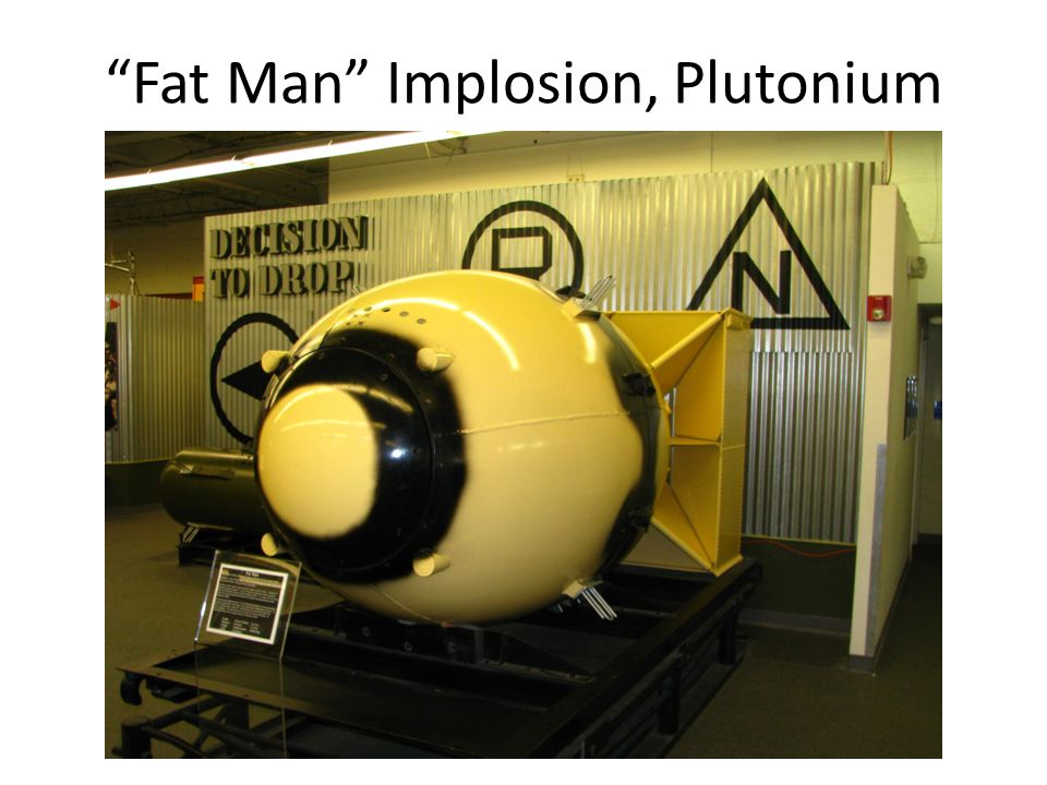 Fat Man Implosion, Plutonium