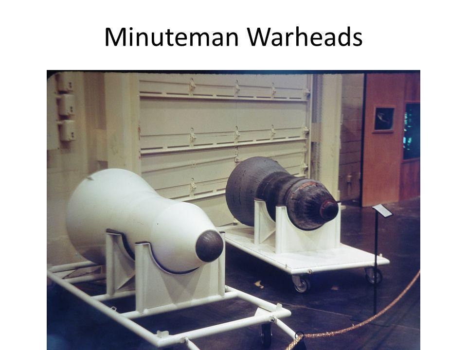 Minuteman Warheads